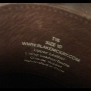 7c168d67991 blake McKay Shoes - BLAKE MCKAY Luxury Leather Penny Loafer Sz. 10
